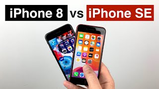Vergleich: Apple iPhone SE (2020) vs. iPhone 8. Lohnt ein Kauf des iPhone 8 noch?
