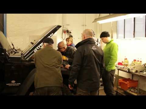 Impressionen vom Jeep Wrangler Workshop 1 - Offroad-Vorbereitung, Wartung und Pflege
