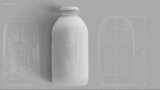 Company with Portland lab makes paper bottle
