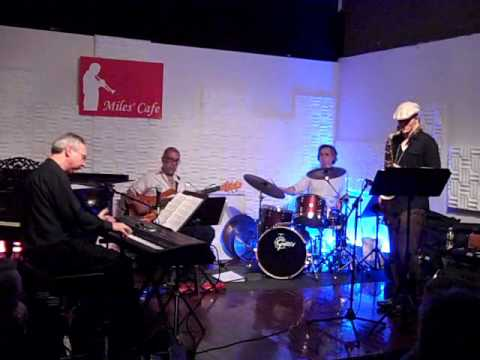 Jazz Patrol - Copycat at Miles Cafe - NY.wmv