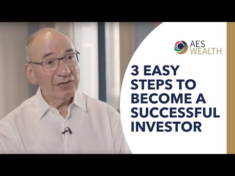 Three easy steps to become a successful investor