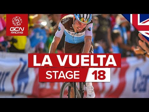 Video | Samenvatting etappe 18 Vuelta a Espana 2019