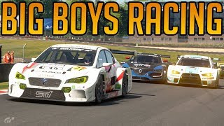 Gran Turismo Sport: Racing with the Big Boys
