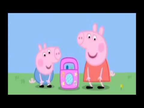 Свинья Пеппа слушает песни из нашего мира!!!