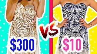 VESTIDO BARATO vs CARO 👗 - CUÁL ES MEJOR?? 💸 $5400 vs $200!!💸   Mariale