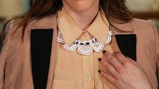 DIY Fashion | Lace Bib Collar Necklace Tutorial