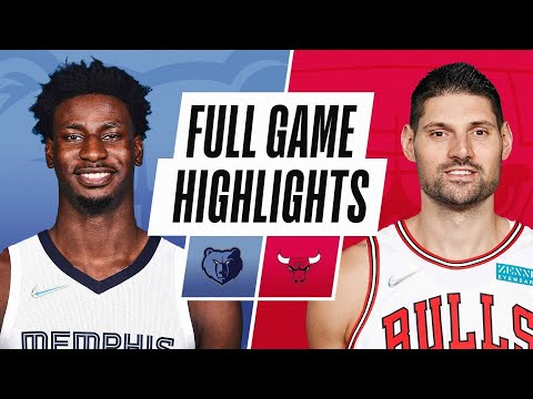 Chicago Bulls vs Memphis Grizzlies</a> 2021-10-16