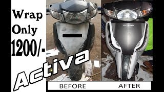#activa #honda Activa Wrapping In 2019 Limited Edition