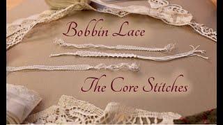 Bobbin Lace: Brief Setup, Core Stitches, And A Bit Of Lace Identification