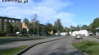 preview picture of video 'Trasa egzaminacyjna: Jastrzębie Zdrój PRAWO JAZDY - na przystanek autobusowy'