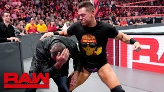 The Miz Gets WrestleMania Payback Against Shane McMahon: Raw, April 15, 2019