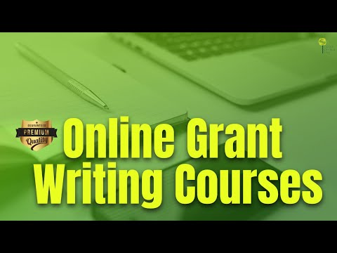 Online Grant Writing Courses That Help You Learn Grant Writing Quickly & Easily | Grant Central USA