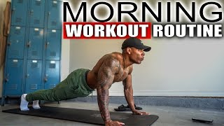 10 MINUTE MORNING WORKOUT (NO EQUIPMENT)
