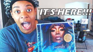 IT'S FINALLY HERE | B7 ALBUM OPENING REVIEW/QUICK THOUGHTS!!! #Brandy