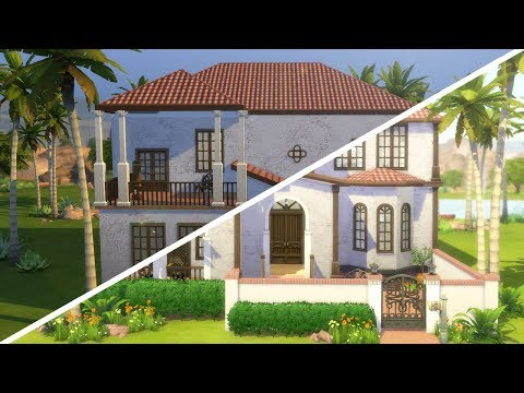 CALIENTE MANSION // The Sims 4: Fixer Upper - Home Renovation