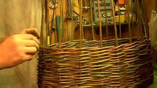Плетение из ивы своими руками