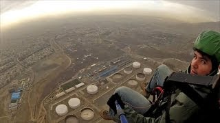 preview picture of video 'ACRO Tandem Paragliding in Iran,Tehran'
