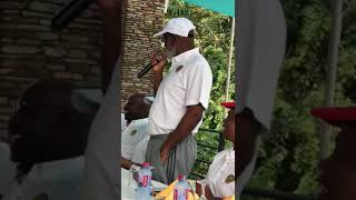 MOST REVEREND CHARLES GABRIEL PALMER BUCKLE SINGS ' REDEMPTION SONG ' BY BOB MARLEY
