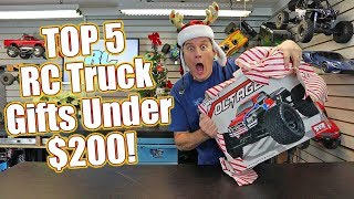 Top 5 RC Truck Gifts Under $200 - Give The Gift of Radio Control Excitement!  | RC Driver