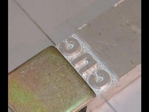 Изготовление Клише и пломбираторов на мини фрезерном станке от Чпу Моделист
