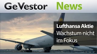 Lufthansa will langsamer wachsen