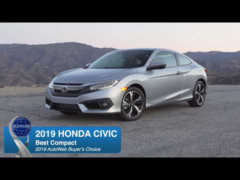 2019 Honda Civic Wins the AutoWeb Buyer