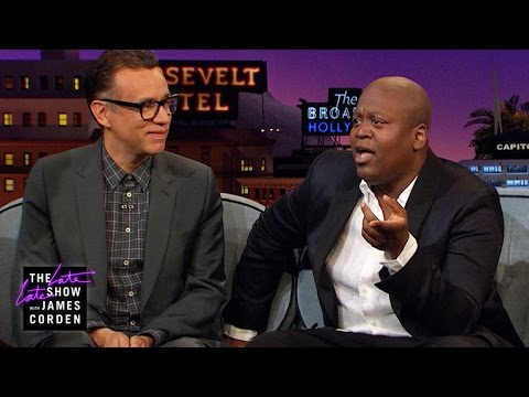 Tituss Burgess & Fred Armisen Would Be Awful Getaway Drivers