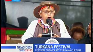First lady Margaret Kenyatta opens Turkana cultural festival in Lodwar town