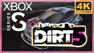 [4K] DiRT 5 / Xbox Series S Gameplay