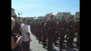 preview picture of video 'přísaha Vyškov květen 2012'