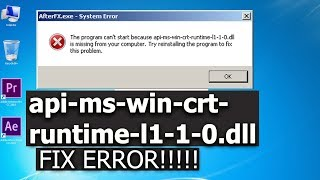 api-ms-win-crt-runtime windows 7