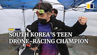 Meet South Korea's 18-year-old world drone-racing champion