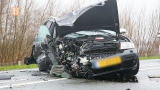 Inhaalactie leidt tot grote crash op N201 Vinkeveen