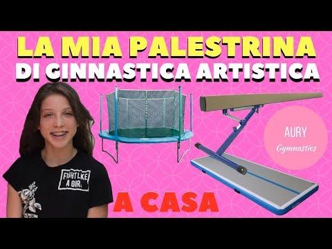 LA MIA PALESTRA DI GINNASTICA ARTISTICA A CASA 🤸 || AURY GYMNASTICS