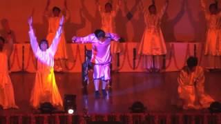 Anshika Performing at Apeejay Annual Day