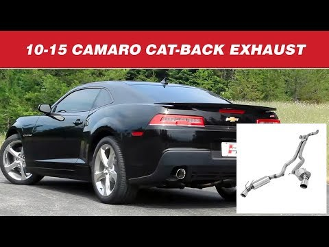 2010-15 Camaro SS - Hurst Elite Series Cat-back Exhaust Systems