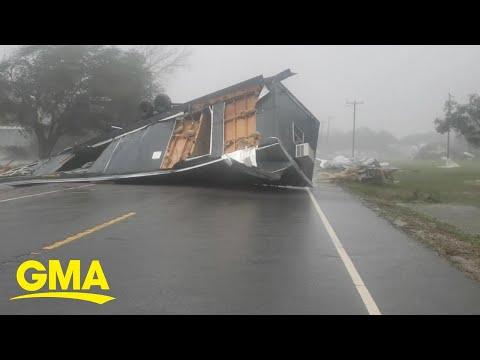 Hurricane Delta Leaves Louisiana Delta Reeling