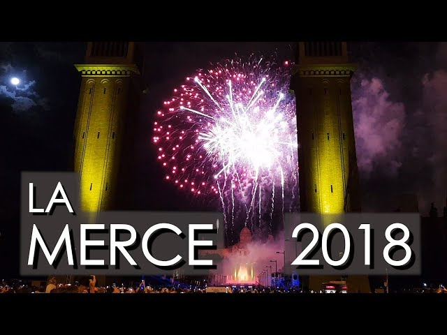 La Mercè Musical Fireworks display 2018 (PIROMUSICAL)