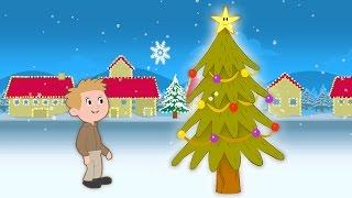 O Christmas Tree | Kids Christmas Sing-along with Lyrics!
