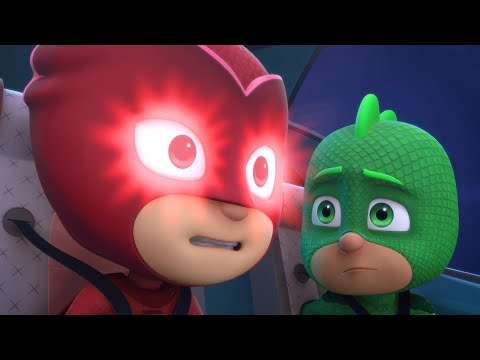 PJ Masks Full Episodes 1, 2  - Blame it on the Train, Owlette Catboy's Cloudy Crisis - Cartoons #75