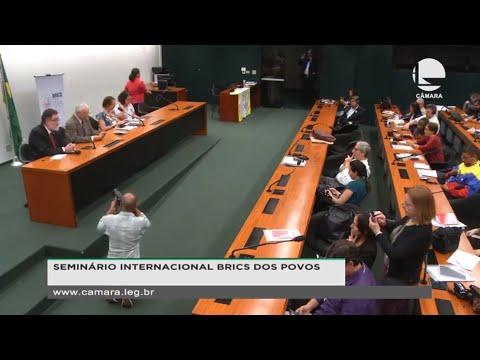 Seminário Internacional Brics dos Povos - 11/11/19 - 15:00