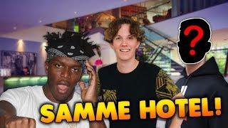 SAMME HOTEL SOM KSI + MCKIDPRO FACE REVEAL!! - Manchester Vlog