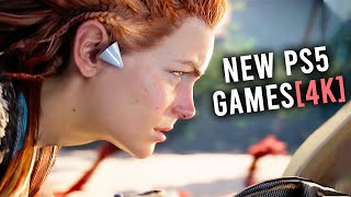 Top 15 NEW PS5 Games From Sony Event [4K Video]