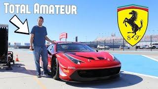 The Ferrari 458 Italia Race Car Was AMAZING! *Shifts at 9000 RPM*