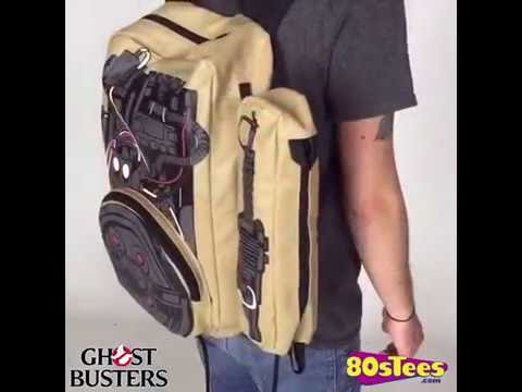 Ghostbusters Proton Pack Backpack Video