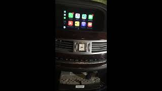 Apple CarPlay for Mercedes S-Class W221 2007 2008 2009