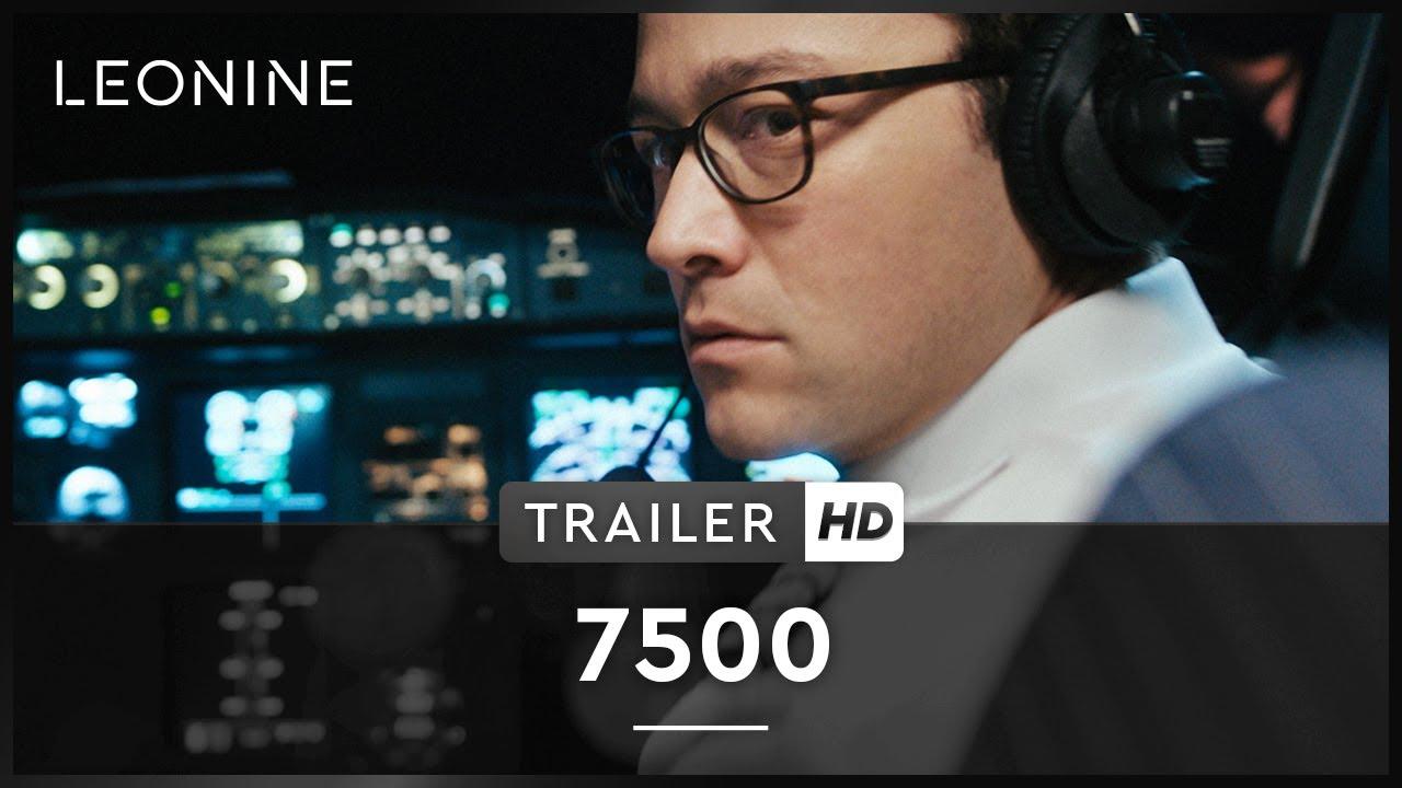 Трейлер психологического фильма «7500»