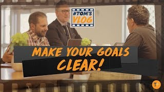 Setting Clear Goals for Living A Full Life While Doing Your Hustle | TOMSVLOG #7 PART 1