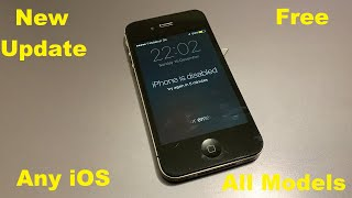 1000% Possible iCloud Unlock ''iPhone is Disabled'' Unlock iCloud Activation Lock WithOut Wifi