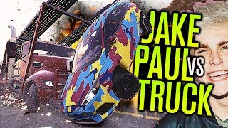 JAKE PAUL VS SEMI TRUCK?!?! | Need for Speed Payback MODS
